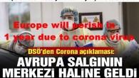Europa wird in 1 Jahr wegen corona virus zugrunde gehen