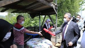 Başkan Dursun'dan Engelliler Haftasında Anlamlı Ziyaret