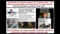 İstanbul un başına gelen iki büyük bela biri Ekrem İmamoğlu biri Mehmet Tevfik Göksu,