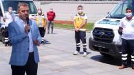 Hasta Nakil Ambulansı Filomuzu Güçlendirdik