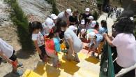 Başkan Deniz Köken Çocuklarla Merdiven Boyadı