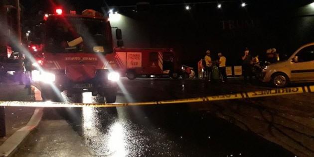 Mecidiyeköy'de televizyon tamir atölyesinde patlama: 1 kişi yaralandı