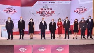 İDDMİB, İhracatın 'Metalik Yıldızları'nı ödüllendirdi