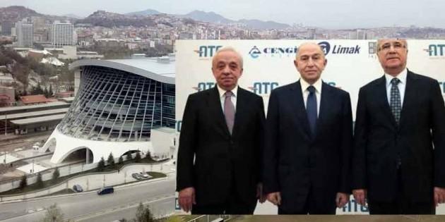 Kapalı gar için Limak-Kolin-Cengiz'e 27 milyon ödenecek