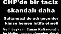 CHP'de bir taciz skandalı daha