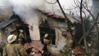 Eyüp'te metruk gecekonduda yangın