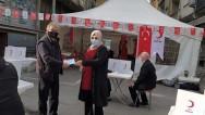Karadeniz Mahallesi Muhtarından bir Kan bir Can bağışı