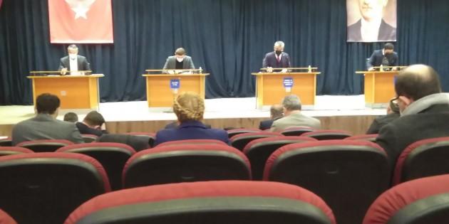 Bayrampaşa belediyesi 2021 yılı ilk meclis toplantısı,nı yaptı.