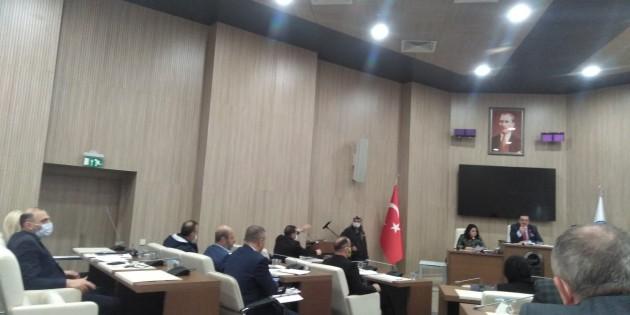 Eyüp meclisinde bağımsız parti meclis üyesinden 10 Ocak gazeteciler günü için büyük jest