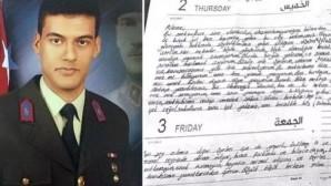 Gara şehidi astsubayın terör örgütünün elindeyken ailesine yazdığı mektup ortaya çıktı