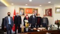 Ak Parti Gaziosmanpaşa ilçe başkanına yerel basın ziyareti