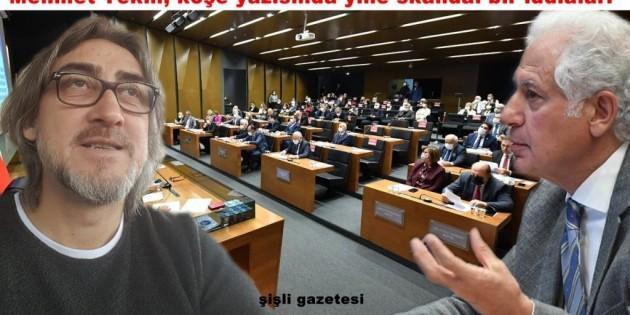 "Mehmet Tekin: ""Keskin, 14 CHP'li meclis üyesine açıktan para dağıttı!"""