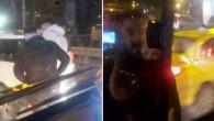 Bakırköy'de iki saldırgan İETT otobüsünün önünü kesti