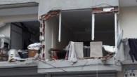 Gaziosmanpaşa'da bir apartman dairesinde doğalgaz patlaması meydana geldi