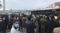İstanbul'da metro seferlerini aksatan yangın!