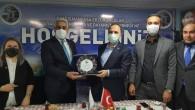 Gaziosmanpaşa Ak Parti ilçe başkanı Fatih Aydemir,den Erzurum Derneğine ziyaret