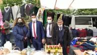 Adalet Partisi Pazarcı esnafıyla adaletsizliği konuştu.