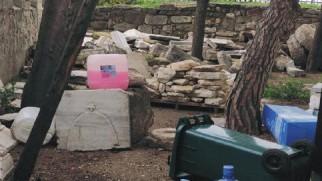 """Kale Park'ta Eser Tahribatı Sürüyor"""""""