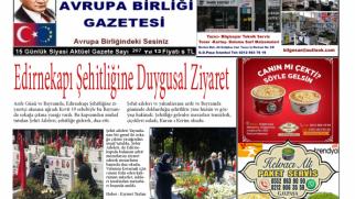 Avrupa Birliği Gazetesi 207 Sayısı