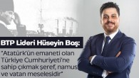 BTP Lideri Hüseyin Baş;