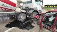 Kastamonu'da iki ayrı kazada toplam 5 kişi yaralandı