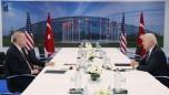 Belçika'daki NATO Zirvesi sırasında gerçekleşen Erdoğan-Biden görüşmesi sona erdi