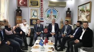 İyi Parti Genel Başkan Yardımcısı Prof.Dr. Bahadır Erdem'den Gostivarlılar Kültür ve Dayanışma Derneğine Ziyaret..