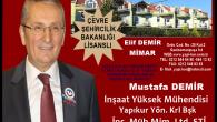 İnşaat Yüksek Mühendisi Mustafa DEMİR