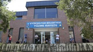 Eyüpsultan Belediyesinin ilk havuzu açıldı