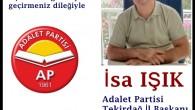Adalet Partisi İL ve İlçe Başkanları Kurban Bayramını Kutlar