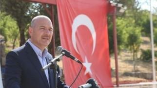 İçişleri Bakanı Süleyman Soylu: Yürüyerek Irak'a gideceğimiz, Suriye'ye gideceğimiz günler yakın.