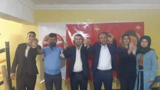 """ADALET PARTİSİ ŞIRNAK""""TA KONGRESİNİ TAMAMLADI"""