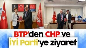 BTP'den CHP ve İYİ Parti'ye ziyaret