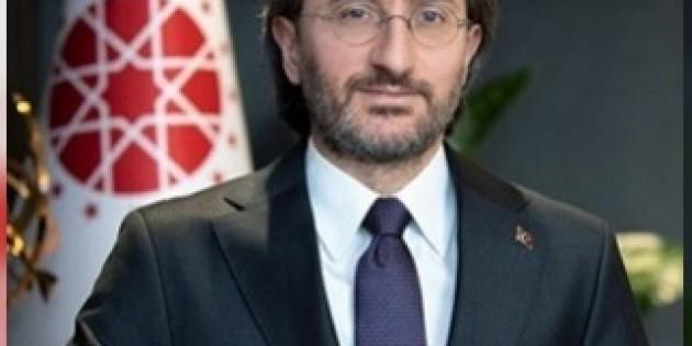 """Cumhurbaşkanlığı İletişim Başkanı Fahrettin Altun'un """"İletişim Başkanlığının Üçüncü Kuruluş Yıldönümü"""" Dolayısıyla Yaptığı Açıklama:"""