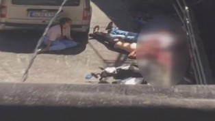 İstanbul'daki dehşetin görüntüleri ortaya çıktı! Dünürlerini katletti