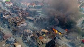 Yerleşim alanları, tarım alanları, evler, iş yerleri yandı! Manavgat'ı kül eden yangın