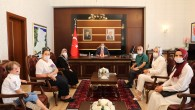 Engelliler Derneği Yeni yönetiminden Vali Kaldırım'a Ziyaret