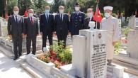 KKTC Cumhurbaşkanı Ersin Tatar'dan Kıbrıs Şehidi Cengiz Topel'e ziyaret