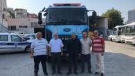 Eyüpsultan Belediyesi'nden yangınla mücadele için basınçlı su tankeri desteği