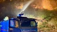 Jandarma Genel Komutanlığı, 4 ildeki orman yangınlarına 2 bin 310 personelle müdahale edildiğini bildirdi.