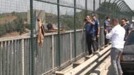 SULTANGAZİ'DE İNTİHAR GİRİŞİMİNDEN VAZGEÇEN KİŞİYE POLİSTEN ALKIŞ