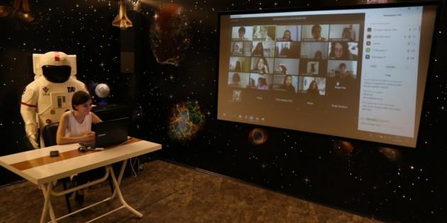 Ali Kuşçu Uzay Evi'nde online eğitimler başlıyor