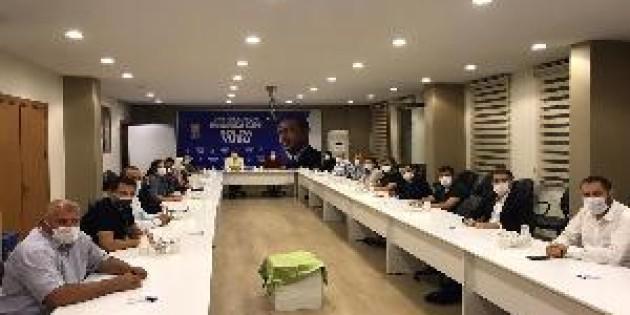Ak Parti Eyüpsultan haftalık Toplantısını yaptı.
