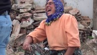 Sultangazi'de kaçak baraka yıkımı esnasında ilginç anlar! Alkış tutup oynadılar