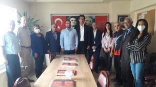 Gaziosmanpaşa Gelecek Partisi'nden CHP'ye ziyaret