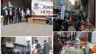 """Anadolu Gençlik Derneği (AGD) Gaziosmanpaşa Şubesi tarafından öğrenciler yararına """"Hayır Çarşısı"""" düzenleniyor."""