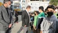 Eyüpsultan Belediyesi'nden öğrencilere çorba ikramı