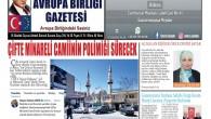 Avrupa Birliği Gazetesi 214 sayısı çıktı.