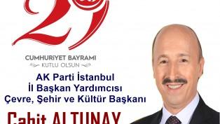 Ak Parti İl Başkan Yardımcısı Cahit Altunay