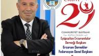 Cahit Özarslan Erzurum Dernekler fedarasyonu Başkanı,